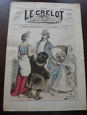 journal Le Grelot Numéro 76 du 22 /09/ 1872 ( SI NOUS CHANGIONS )