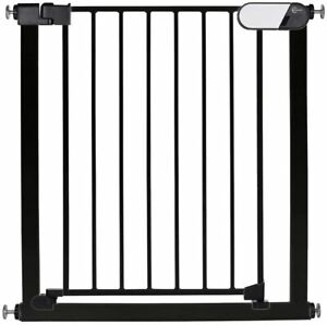Callowesse Kemble Pressure Fit Stair Safety Gate for Baby and Pet in Black