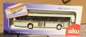 SIKU 3121 Stockholm Arlanda Aéroport Bus de Voyage Service 1:55 Très Bon IN Ovp