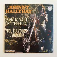 JOHNNY HALLYDAY ♦ CD NEUF SOUS BLISTER ♦ RIEN N'VAUT CETTE FILLE LA