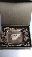 TORONTO BLUE JAYS MVP CRYSTAL Paper Weight Satin Display Box Great Gift Item