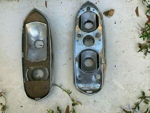 Bentley T1, Rolls  Silver Shadow Tail Lamp Chrome Base