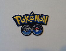 """Pokemon Go""-  Iron-On Embroidered Patch"