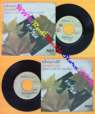LP 45 7'' EDWARD CLIFF Summer love There will be another world 1977 no cd mc*dvd