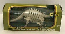 Vintage Playwell German Wind Up Walking Dinosaur Skeleton Brontosaurus W/ Box