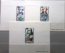 CAMEROUN KAMERUN 1975 809-11 C227-9 DELUXE USA Ann Washington Lafayette Franklin