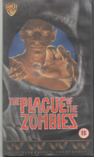 THE PLAGUE OF THE ZOMBIES ANDRE MORELL DIANE CLARE JOHN CARSON VHS VIDEO 1988