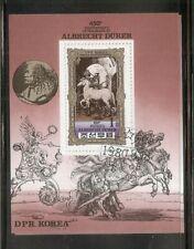 Korea SC # 1984 Albrecht Durer 450th  Death Anniversary .Souvenir Sheet .  MNH