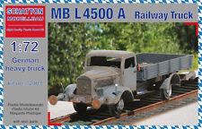 Schatton Modellbau 1/72 Mercedes MB L-4500 A Railway Truck # 72009