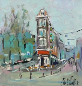 Andre Pallat - The cafe - A stunning example of this artists work