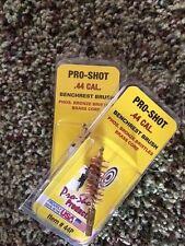 Pro Shot .44 Cal Pistol Chamber Brush BrassBronze (2-PACK) 44P