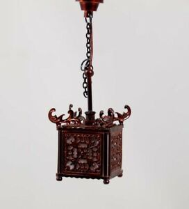 Heidi Ott Dollhouse Miniature Light 1:12 Scale Oriental Lamp #YL5050R