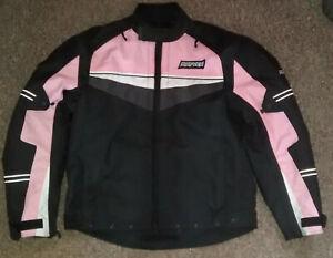 RAYVEN  Ladies      textile motorcycle jacket    size L     free post