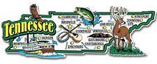 Tennessee Jumbo State Map Fridge Magnet