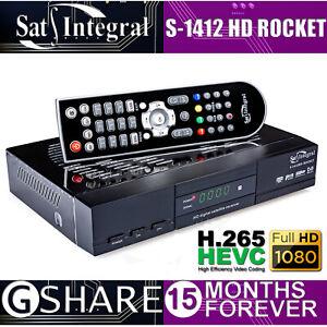 Sat-Integral S-1412 HD Rocket (!!! 15 MONTHS GSHARE !!! FREE SATELLITE TV !!!)