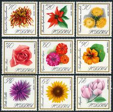 Poland 1430-1438, MI 1696-1704, MNH. Flowers: Roses, 1966