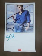 "VINTAGE 1980's Levi 501 Poster 35""x22"" Lot of 24 Posters"