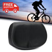 Comfortable Bike Seat Large Wide Big Soft No Pressure Bicycle Ergonomic Saddle