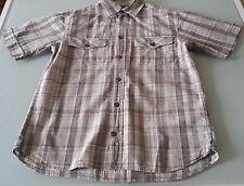 Chemise chemisette été à Carreaux CYRILLUS 12 ans Très bon Etat