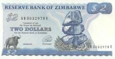 Billets de l'Afrique de Zimbabwe