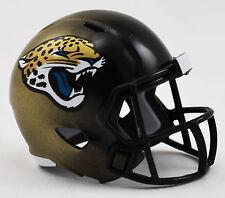 NFL American Football JACKSONVILLE JAGUARS Riddell SPEED Pocket Pro Helmet LOOSE