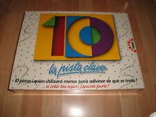 10 LA PISTA CLAVE DE EDUCA JUEGO DE MESA DE ENTRETENIMIENTO NUEVO PRECINTADO