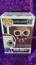 Funko Pop Rocks Elton John Red White & Blue #63 - Fye Exclusive