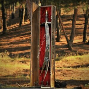 Zulfikar Sword - Imam Ali's sword, Handmade Islamic Sword, Historical Sword