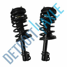 Front Complete Driver & Passenger Side Struts & Coil Springs w/ Mounts Pair x2
