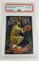 1997-98 Topps Chome DESTINY Kobe Bryant #D5 - Los Angeles Lakers - PSA 8