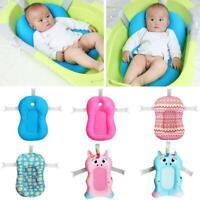 Infant Non-Slip Shower Seat Support Baby Kids Bath Cushion Bathtub Mat Bath Bed
