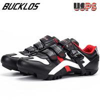 BUCKLOS Road Cycling Shoes Men Women MTB Bike Shoes Riding Shoes Buckle Strap US