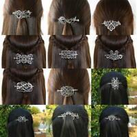 Vintage Norse Stick Slide Hairpin Celtics Knots Hair Clip Women Hair Accessories
