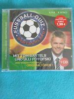 CD Fußball-Quiz Deutschland mit Tom Bartels & Ulli Potofski Neu & OVP