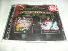 OBITUARY -SLOWLY WE + CAUSE OF- HARD TO FIND LTD EDITION 2 CD SET OOP TOP DEATH