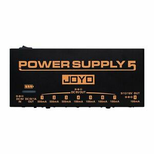 Joyo JP05 Rechargeable Isolated Power Supply Brick with USB Port - Jam Music Ins