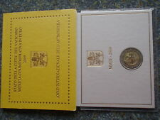 Vatikan 2 Euro 2009 Astronomie Gedenkmünze Blister Folder ST Vatican BU coin