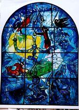 Marc Chagall offset lithograph paris maeght 1960 original  windows dan