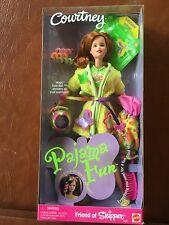 Mattel 1999 Pajama Fun Courtney Friend Of Skipper Barbie w/ Magic Date Ball NRFB