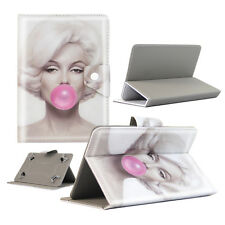 Housse Etui Tablette Polaroid - 9 Pouces - Design Marilyn Bubble