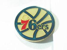 Philadelphia 76ers NBA Pin , Vintage Basket Ball Pin