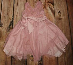 Monsoon Girls Pink Dress 6-7 Years Party Occasional Dress