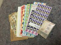 Large Lot of Vintage Easter Seal Stamps