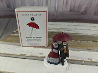 Dept 56 under NCC umbrella red 02102 council RARE xmas holiday village dickens