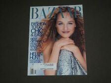 1999 MAY HARPER'S BAZAAR MAGAZINE - HELEN HUNT COVER - SP 4550
