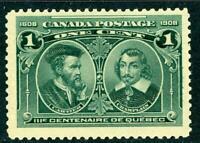 Canada 1908 Commemorative 1¢ Scott # 97 MNH  D434
