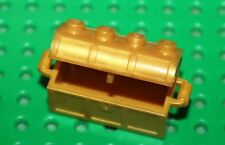Coffre Lego Pearl Gold Container ref 4738a/set 6243 7196 7978 7078 6241 6253