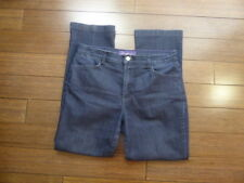 Women's NOT YOUR DAUGHTER'S JEANS Dark Wash Denim Jeans Sz 8