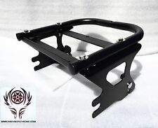 Detachable 2 up Tour Pak Pack Mounting Luggage Rack For Harley Road Glide 97-08