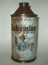 Old Bohemian Club Cone Top Beer Can Bohemian Breweries Boise, Idaho